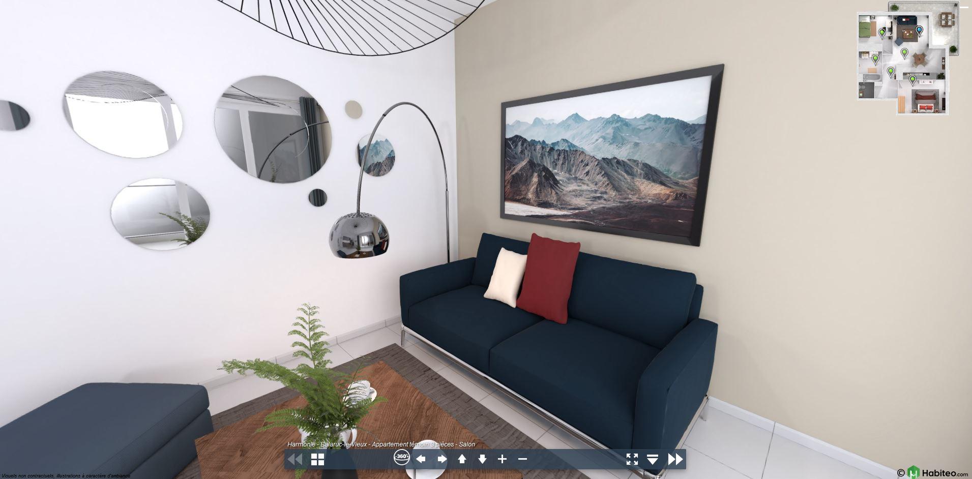Visite studio en 3D